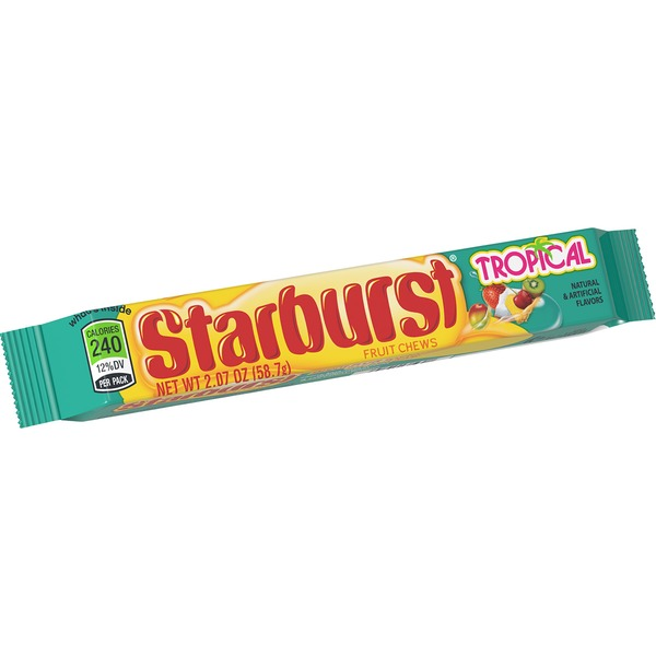 Packed of Starburst Tropical Flavour