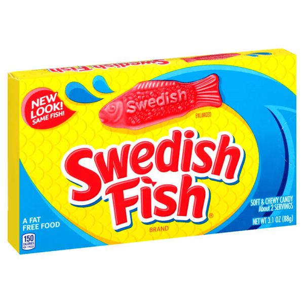Swedish Fish Reds Theatre Box