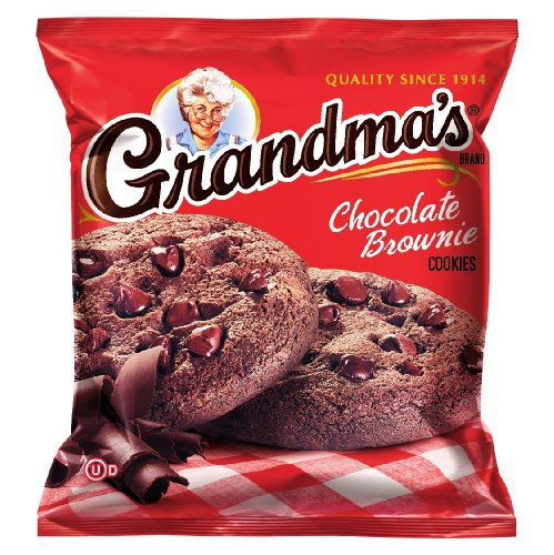 Bag of Grandma's Chocolate Brownie Cookies