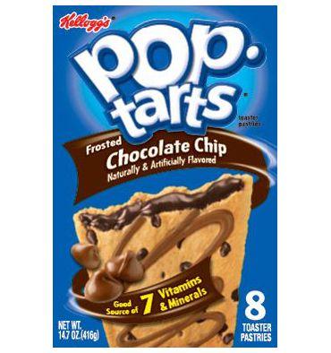 kellogg s poptarts chocolate chip 1