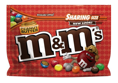 M&M's Peanut Butter Sharing Bag 272g
