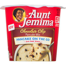 Aunt Jemima Pancake Cup Chocolate Chip