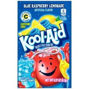 Kool Aid Blue Raspberry Lemonade Sachet