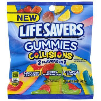 Lifesavers Gummies Collisions 3.6oz