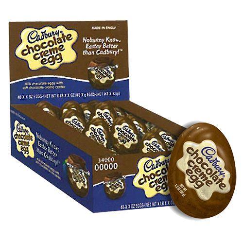 Box of Cadbury Chocolate Creme Egg