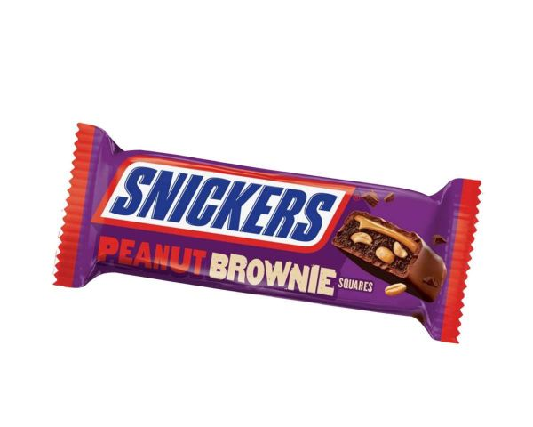 Snickers Peanut Brownie Squares Bar