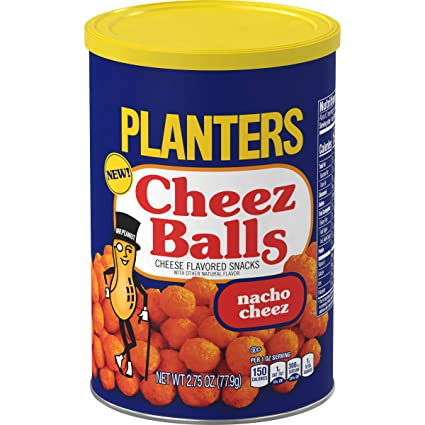 Tub of Planters Cheez Balls Original