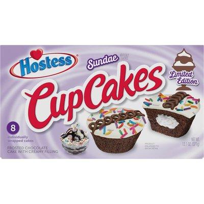 Hostess Sundae Cupcakes Limited Edition 360g