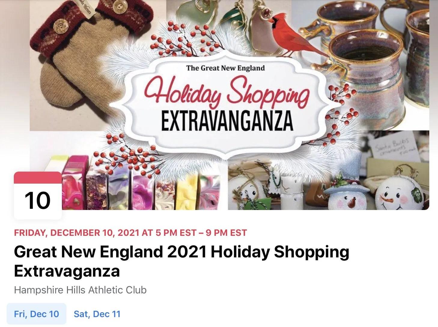GNE 2021 Holiday Shopping Extravaganza