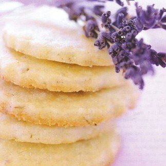 Lavender Butter Cookies - yum!