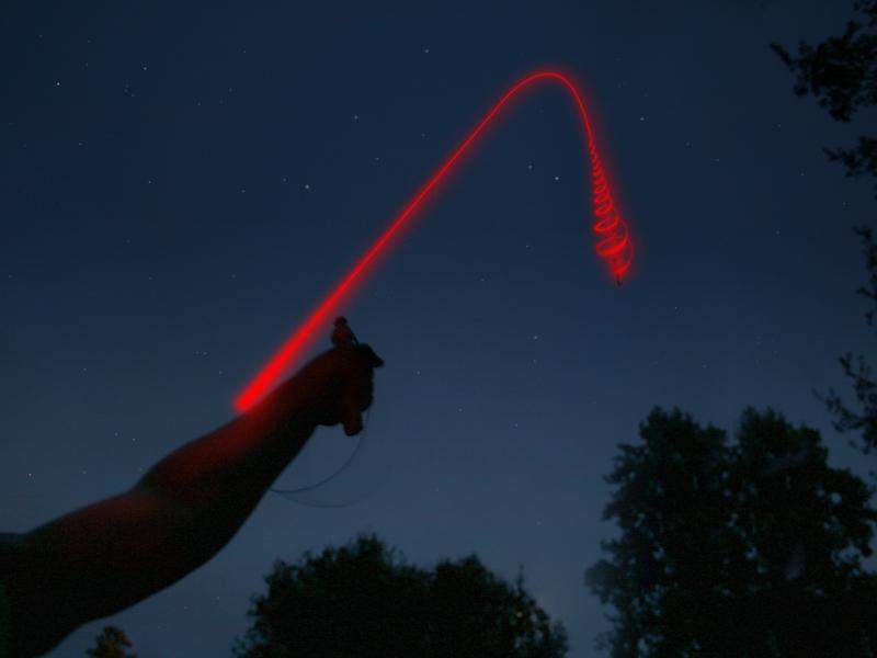 Uncle Miltons Toys Fireworks Lightshow Streaking Light Flyer