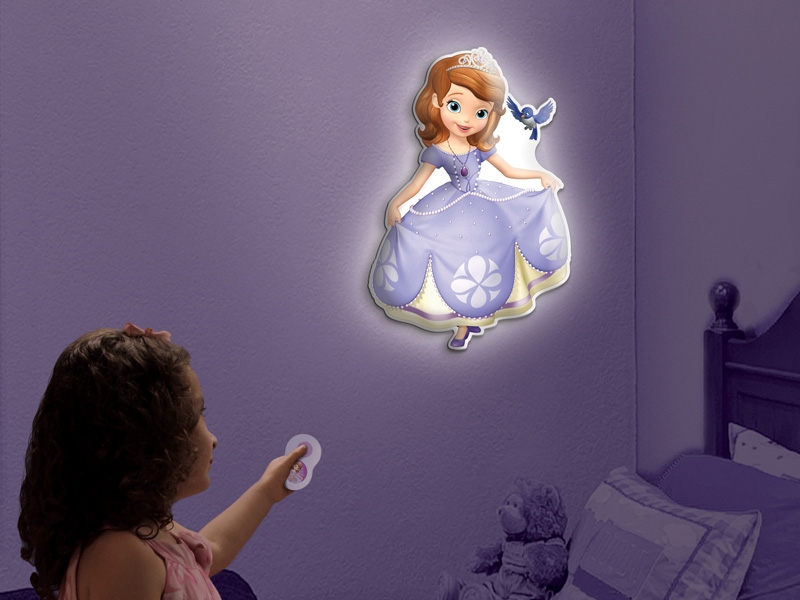 Uncle Miltons Toys In My Room Sofia The First Wall