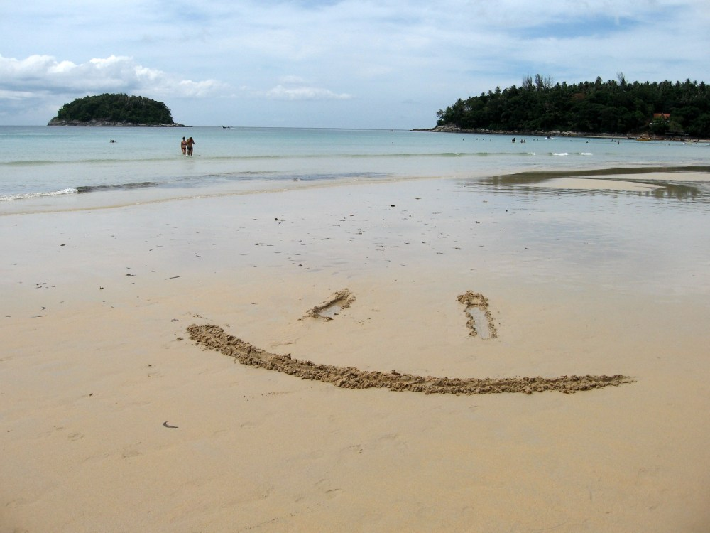 Thai beach smileys (1/3)