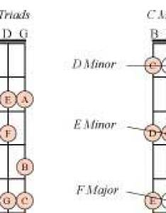 major scale and first second inversion triads also uncle tim   string bass guide chords scales rh uncletim