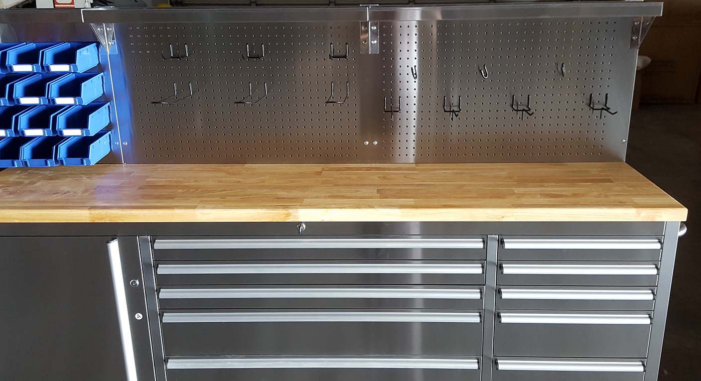 New 11 Drawer 84 Inch Stainless Steel Tool Bench Amp Led