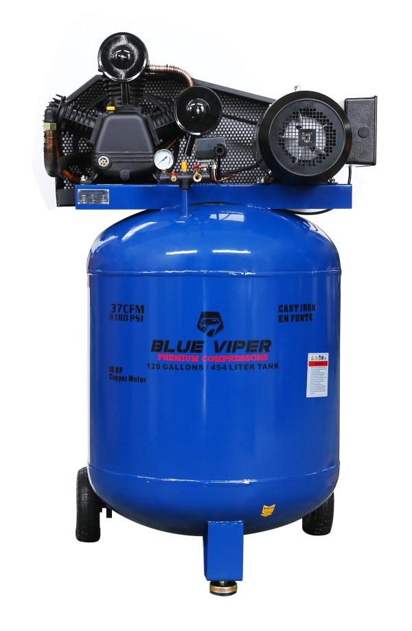 Viper Blue 120 Gallon Air Compressor