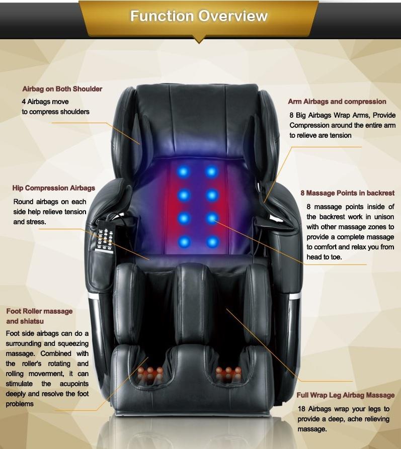 do massage chairs work chair with speakers gaming full body shiatsu foot zero gravity heat recliner ec77