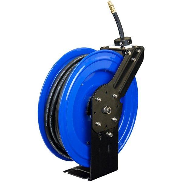 3 8 100 Ft Metal Air Hose Retractable Reel Arh02