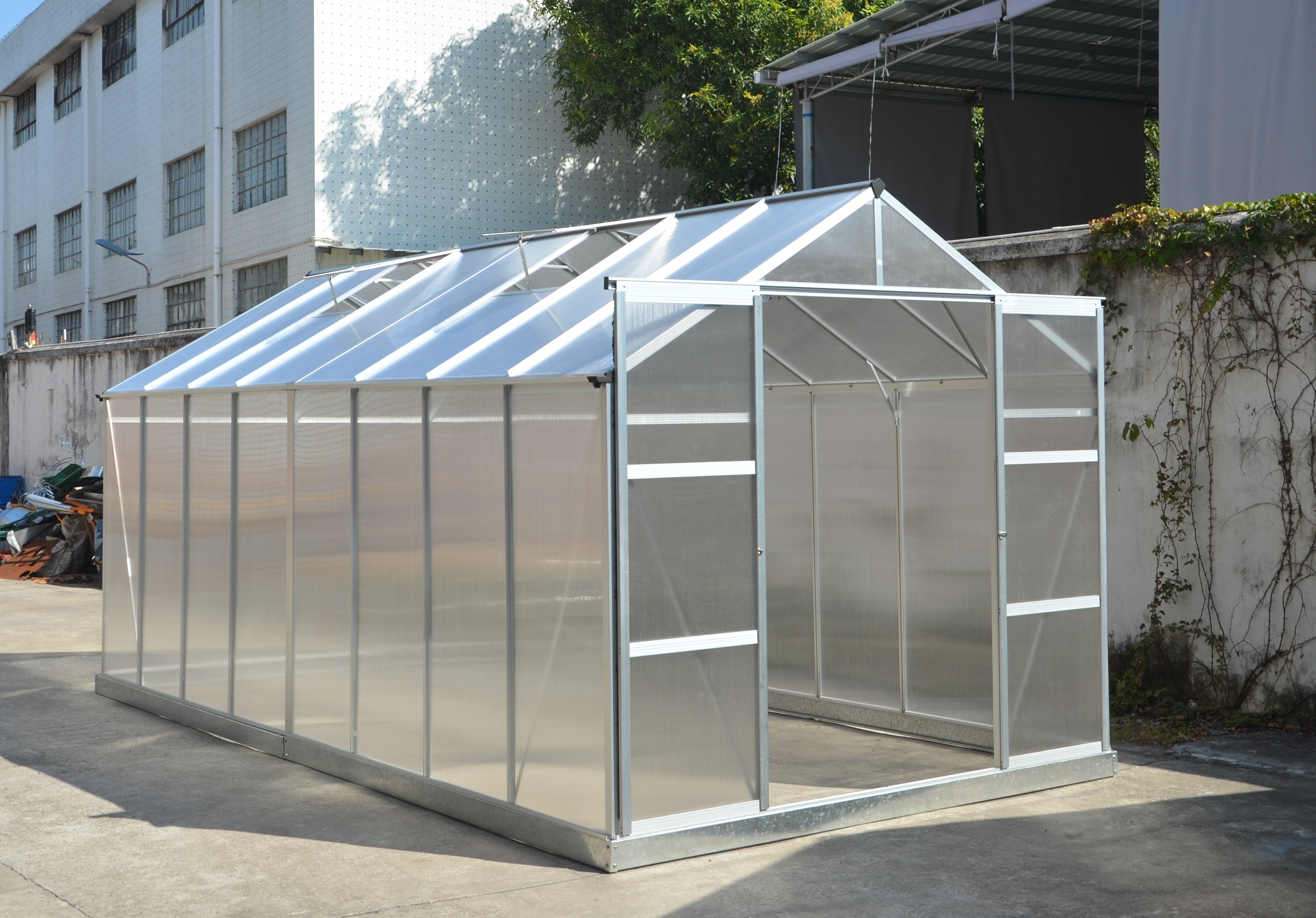 New 8 X 10 Ft Amp 8 X 16 Ft Polycarbonate Green House