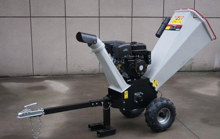 Powered Wood Gas Chipper