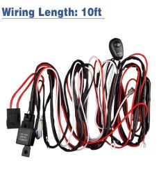 led light bar wiring harness double wire single wire remote controlled [ 1200 x 1200 Pixel ]