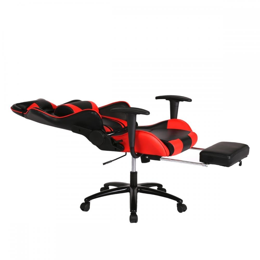 Red Desk Chair New Office Gaming Chairs High Back Racer Gaming Deluxe Mesh Chairs