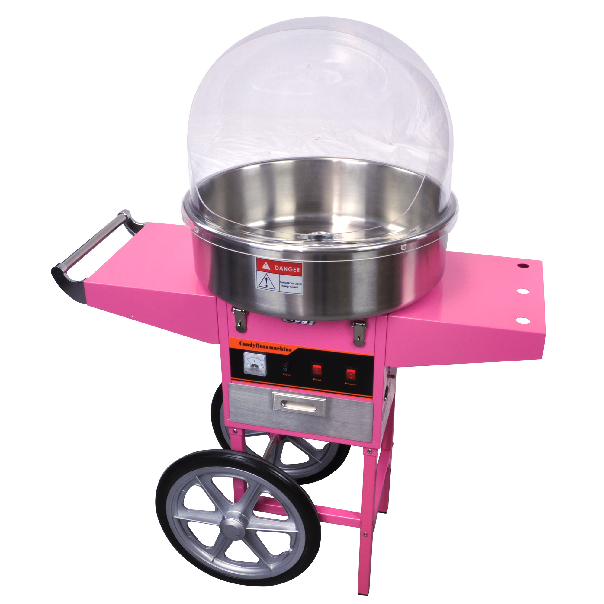 Luxury Candy Floss Cotton Candy Machine W Music And Cover