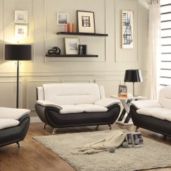 Cheap Leather Sofa Sets Toronto Best Quality Sofas Ireland New 3 Pcs Contemporary Bonded Living Room Set