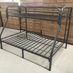 New Twin Over Full Bunk Bed Metal Frame Kids Bed Bedroom Furniture Uncle Wiener S Wholesale