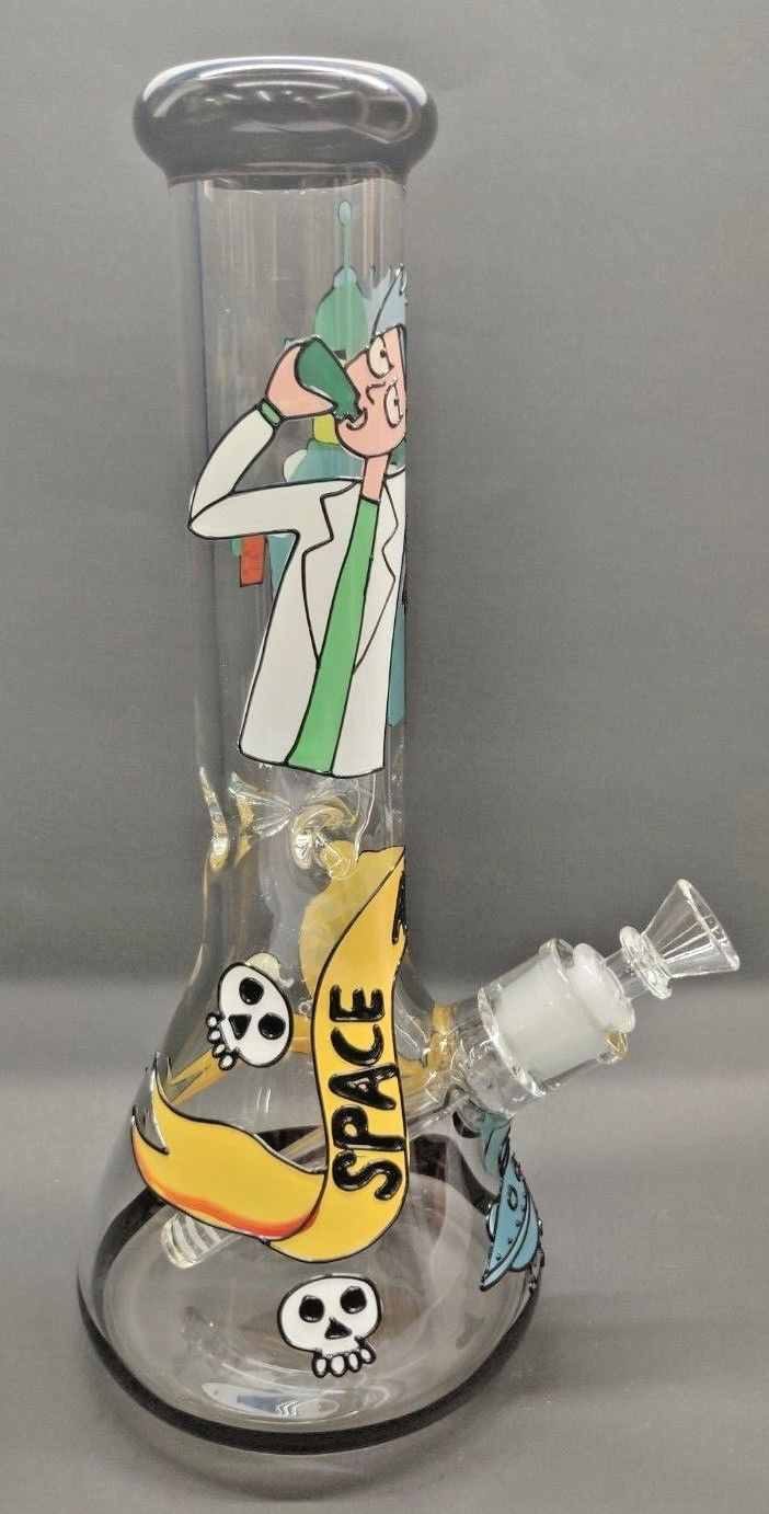 NEW ON SALE  135 IN RICK  MORTY BONG PIPE HOOKA  Uncle