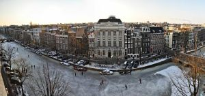One of Amsterdam's best kept secrets: the panoramic view from Felix Meritis. Photo Credit: Amsterdam Marketing