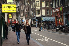 Haarlemmerstraat is a great street for funky, fair-trade clothes + accessories.