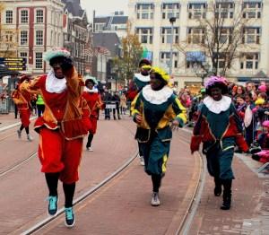 Sinterklaas' Zwarte Pieten annually inspire a racial stereotype debate.