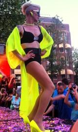 Gay Pride celebrates Amsterdam's tolerance for alternative lifestyles.