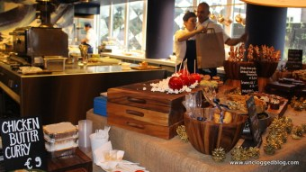 Amsterdam's new Andaz Hotel hosts a holiday market showcasing vendor products.
