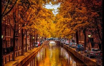Amsterdam in Autumn