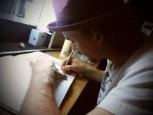 Détente en dessinant
