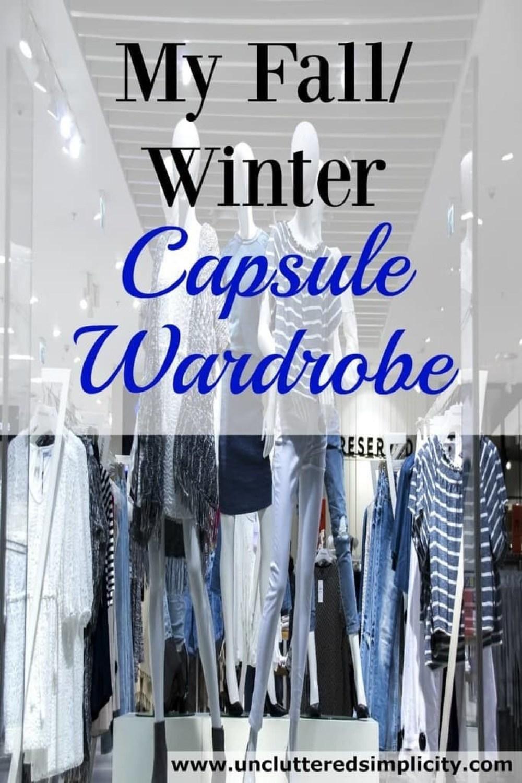 My 33-Item Fall/Winter Capsule Wardrobe