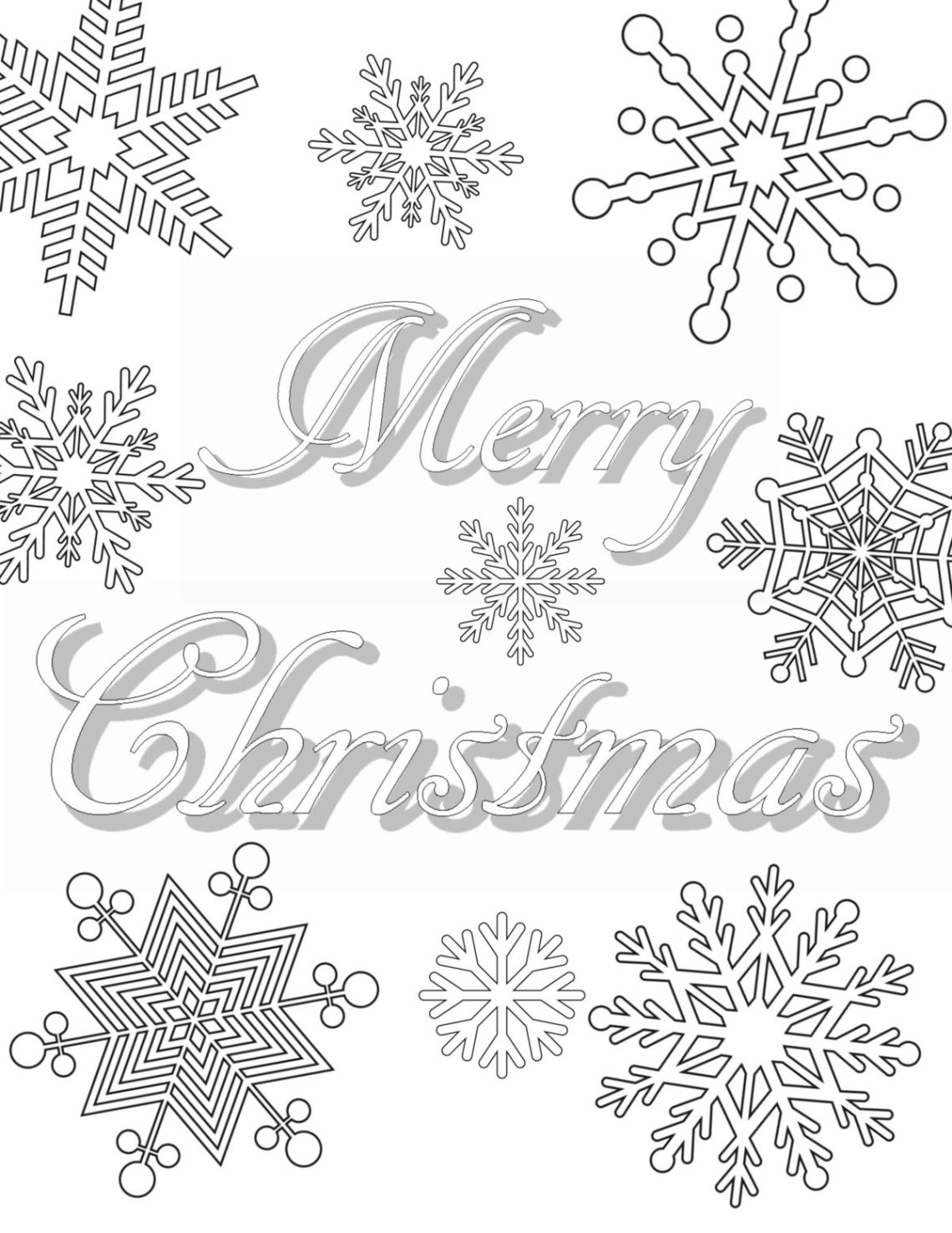 Free Printable Christmas Coloring Pages For Adults | christmas coloring sheets for adults