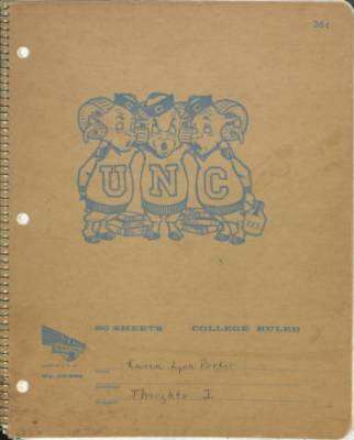 Karen Parker, Diary from College, November 1963 - August 1996 in Karen L. Parker Diary (#5275-z), Southern Historical Collection, Wilson Library, The University of North Carolina at Chapel Hill.