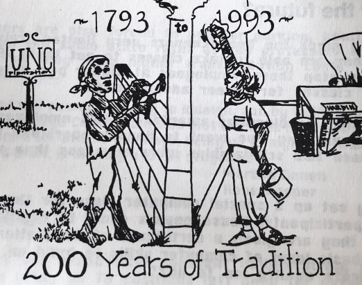 """""""Two Hundred Years of Tradition,"""" in theChapel Hill News Herald, 1 October 1993."""