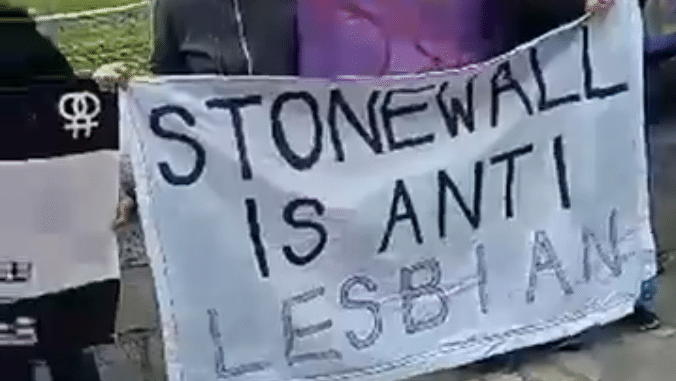 Lesbian Protesters, Stonewall