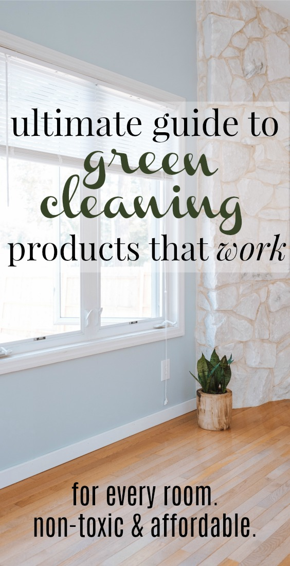 Best Non Toxic Cleaning Products For The Entire Home Uncommonly Well