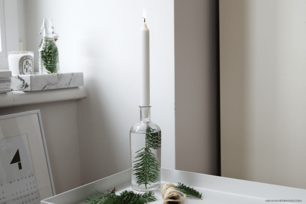 15 minimalist christmas decor diys - Minimalist Christmas Decor