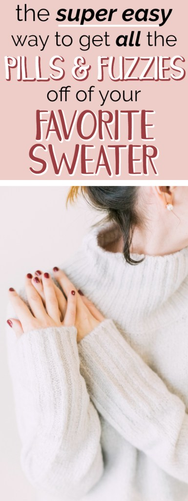 How To Get Pills Off Sweater : pills, sweater, Pills, Fabric, Shaver, Uncommonly