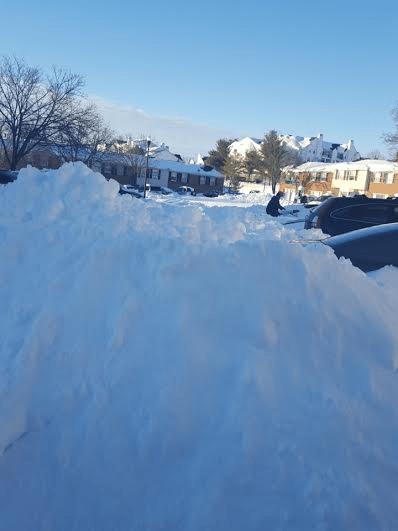 [Winter Storm Jonas] In Baltimore.