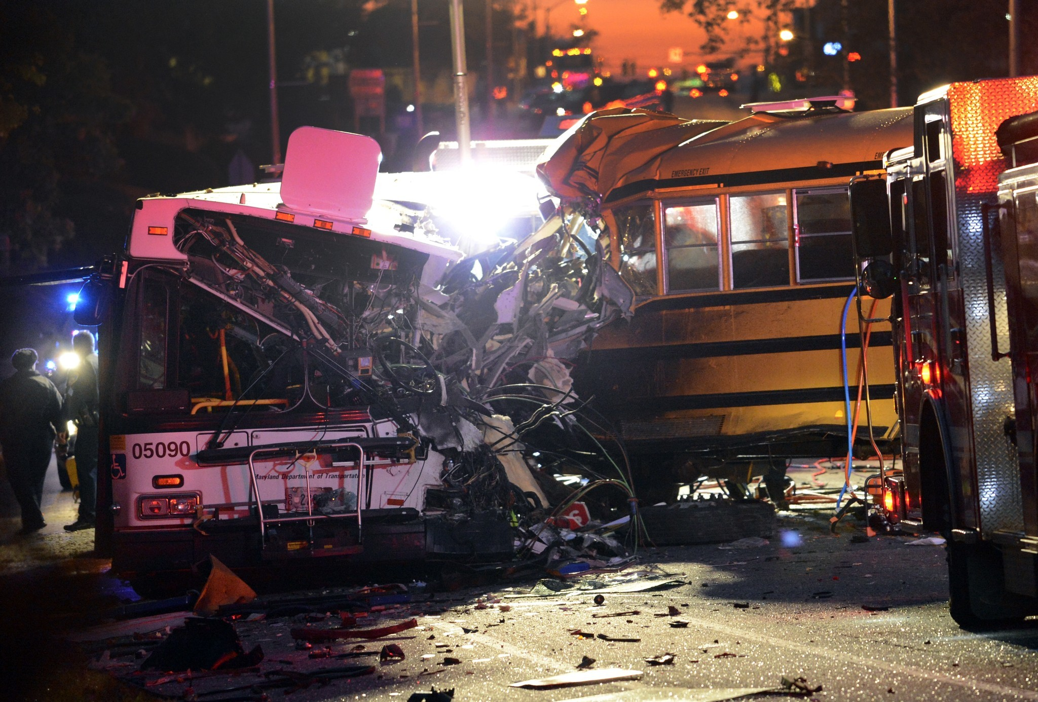 [Current Events] Fatal Crash Claims Lives But, The Focus Is On School Bus Driver's Driving History