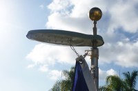 Solar Flagpole Light - Uncommon USA - Flagpoles, Flagpole ...