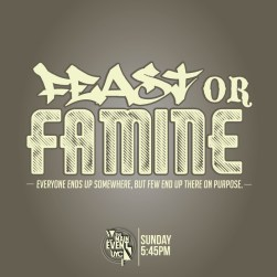 Image result for feast or famine