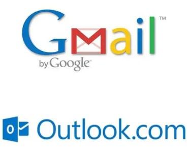 qué correo tiene más capacidad, Gmail o Outlook